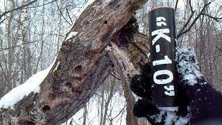 Взорвал очень мощную петарду в дереве!| Тест различных петард в пне| Моя пиротехника