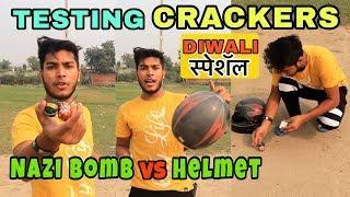 TESTING CRACKERS | Diwali Fireworks Stash with TESTING | Diwali ke Patake 2018