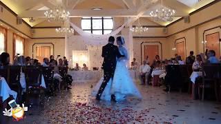 Пиротехника и метафан на первый свадебный танец