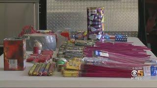 East Bay Fire Department Takes Back Fireworks To Prevent July 4th Brush Fires