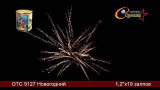 Батарея салютов Новогодний (ОТС 5127)