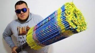Запустил 10000 фейерверков одновременно