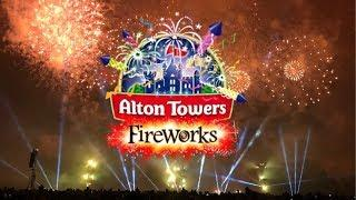 Alton Towers Fireworks Vlog November 2018
