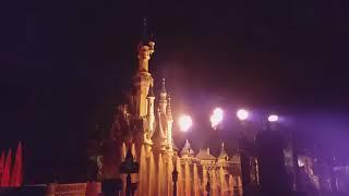 ST David's Fireworks Disneyland Paris 2020