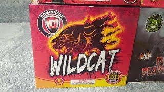 Fireworks Demo (500 Gram Cake) - Wildcat (Dominator)