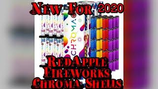 Red Apple Fireworks Chroma XXL 5 Inch Canister Shells