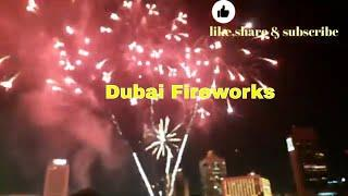 dubai fireworks! #shorts#