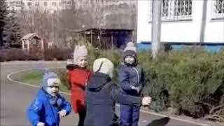 ГБОУ Школа №629 Подвижная игра Хлопушки