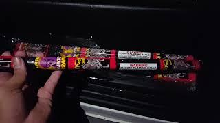 Wolf pack Roman candle phantom fireworks demo