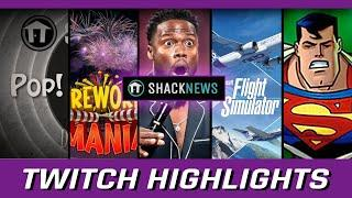 Superman 64, Flight Simulator, and Fireworks Mania! Shacknews Twitch Highlights | Episode 37