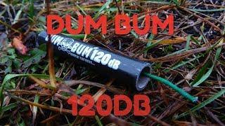 Петарда Dum Bum 120 DB, взрыв. # пиротехника # взрыв петард