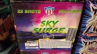 Fireworks Demo (500 Gram Cake) - Sky Surge (AFW)