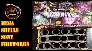 CARNIVAL from Sony Fireworks|10 Mega Display Shell from Sony Fireworks|Big Sky Shot