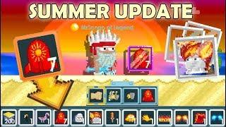 Summer Event 2019 + 7 Super Fireworks! (All New Items) | GrowTopia