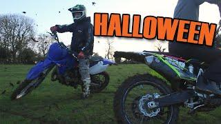 Crashing Bikes, Car Meet & Fireworks | Halloween 2020 |