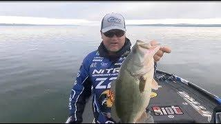 Big Bass Fireworks early on Championship Sunday