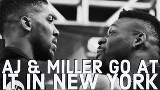 FIREWORKS! HIGHLIGHTS & THOUGHTS ON ANTHONY JOSHUA & JARRELL MILLER  1st PRESSER