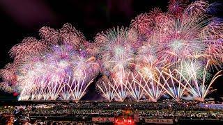"Best Fireworks 2019 Festival ""Nagaoka"" Nigata JAPAN"