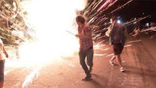 Craziest Fireworks Fails CAUGHT ON CAMERA