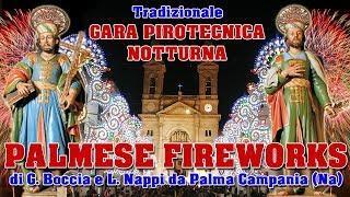 ALBEROBELLO (Ba) - SANTI MEDICI 2018 - PALMESE FIREWORKS (Notturno)