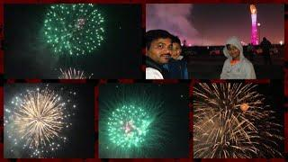 Amazing Fireworks in Aspire Park