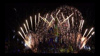 "Happily Ever After FIREWORKS ""UPCLOSE"" 4K ULTRA HD, Magic Kingdom, Disney World"