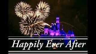 Disney presents Happily Ever After fireworks