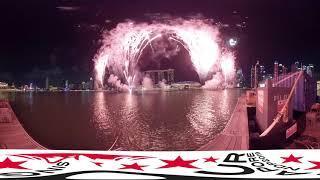 NDP 2019 Fireworks 360 Video