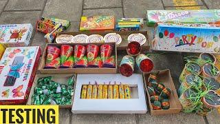 Testing new And Diffrent types of Cracker 2021 Fireworks stash testing Cracker testing new fireworks
