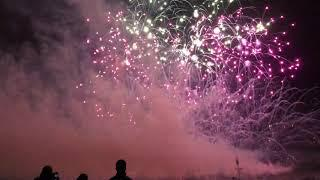 Catton hall 2019 jubilee fireworks Kingswinford closing show