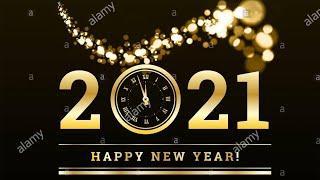 Happy New Year 2021 |Toronto Downtown | Celebration  | Fireworks | Countdown