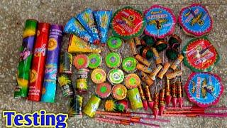 New and Unique Crackers || Firecrackers Testing || Fireworks Testing || Crackers Testing || Patakhe