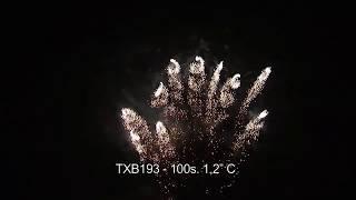 """Fajerwerki TXB193 C 100s 1 2"""" TRIPLEX"""