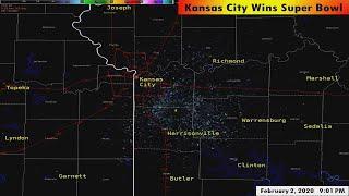 Fireworks light up Kansas City