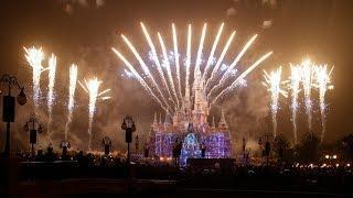 Disney   Fireworks Show de Fogos no Castelo das Princesas