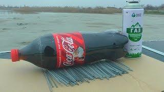 БЕНГАЛЬСКИЕ ОГНИ vs Кока Кола + ГАЗ/SPARKLERS vs COCA-COLA GAS