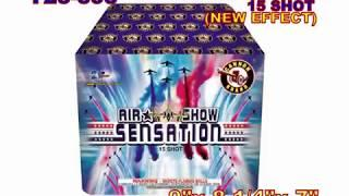 Air Show Sensation 15 Shots Cannon Fireworks (Coming in 2019) | Red Apple Fireworks