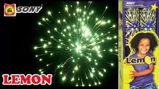 LEMON from Sony Fireworks - Large Skyshot Shell