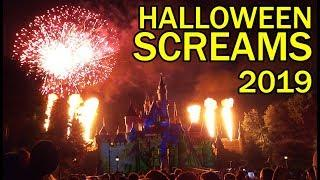 """Halloween Screams"" fireworks first show of 2019 at Disneyland"