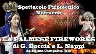 CASTELFORTE (Lt) - B.V. ADDOLORATA 2018 - PALMESE FIREWORKS (Notturno)