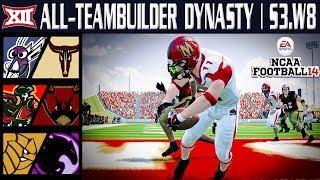 100+ Point Fireworks! - NCAA Football 14 | Big 12 All-Teambuilder Dynasty | Week 8 Y3