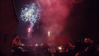 2018 2019 New Year's Eve Valkenburg: Fireworks and Hiking