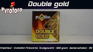 Double gold - Evolution Fireworks