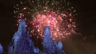Star Wars: Galaxy's Edge Fireworks!