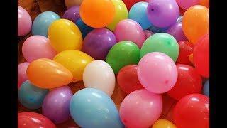 Приколы с шариками | Запускаем шарики в небо!!!!