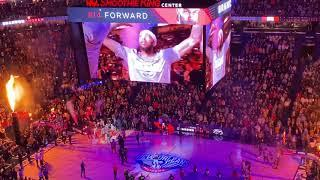 Pelicans fireworks, Pat McAfee introductions before Lakers showdown