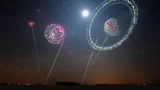 Footage / Футаж - Super Fireworks / Cупер фейерверки