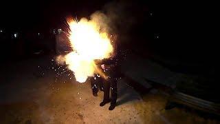 Взрываем самодельные петарды (Часть 2)