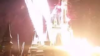 Part 2- Disney World's Fireworks & Light Show