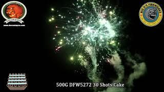 """Striker! 500 Gram Cake by """"Doremi Fireworks"""" NEW FOR 2021!"""